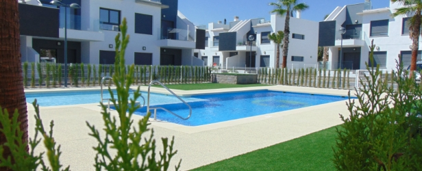 Special offer on 3 ground floor bungalows at Pilar de la Horadada