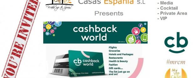 Casas Espania and Cashback World promotional event - 27 November 2018