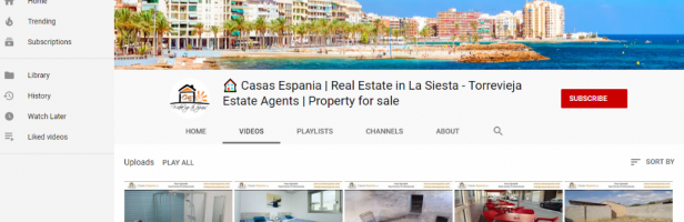 Casas Espania on Youtube