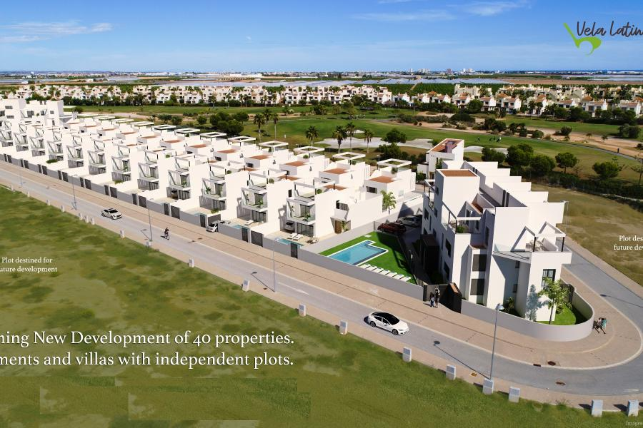New Property for sale - Apartment for sale - Los Alcazares - Roda Golf